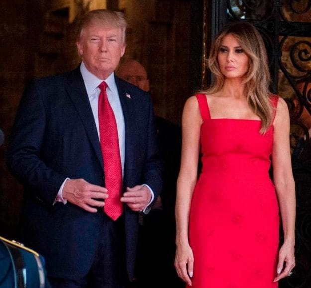 Check out Melania Trump's N1.6m outfit worn during the Chinese president's US visit
