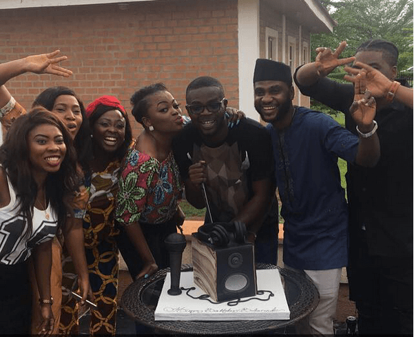 How Funke Akindele was joined by cast of 'Jenifa's Diary 'and 'Industreet' at birthday party for JJC