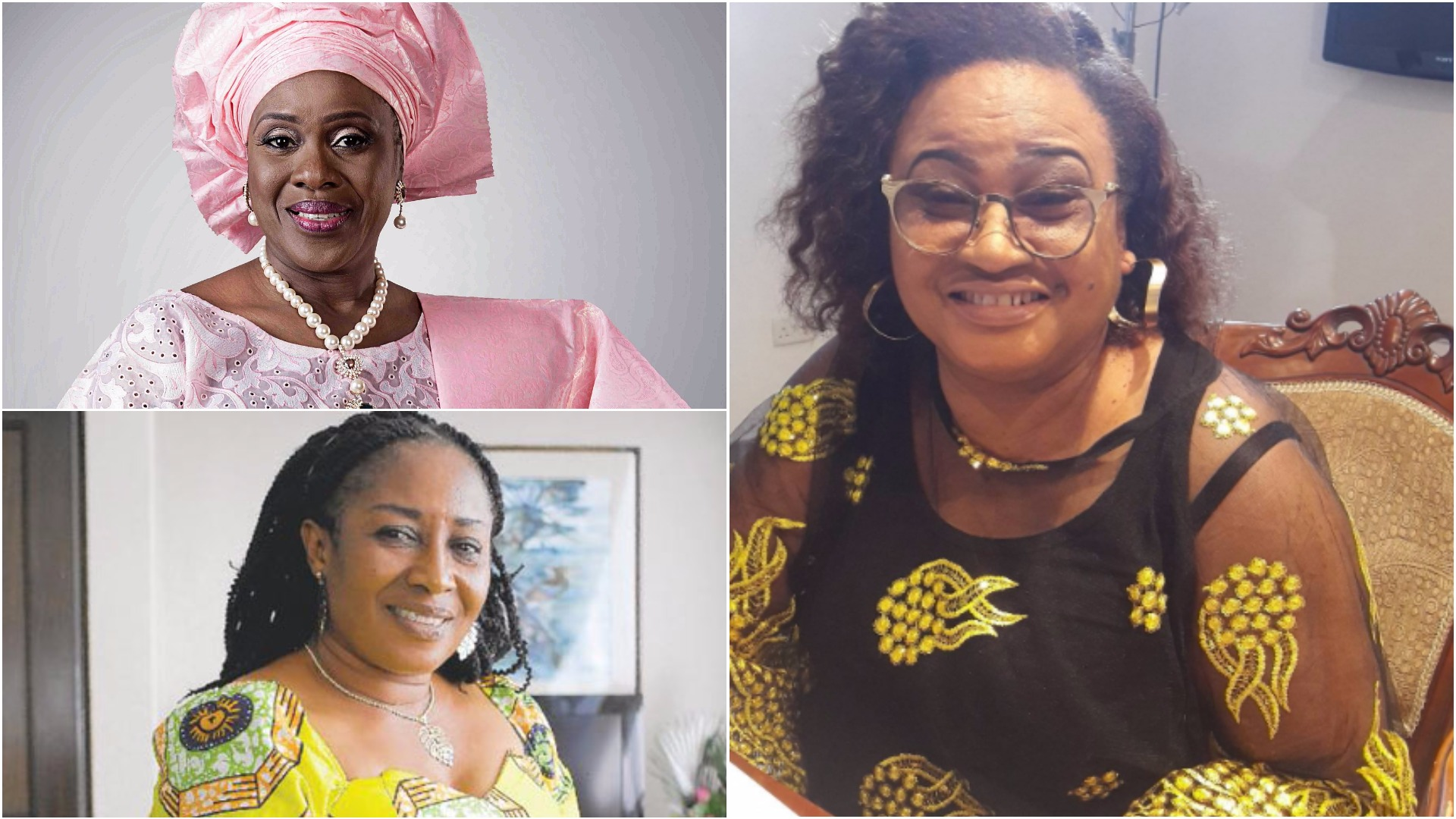 These are 10 actresses that helped shape Nollywood