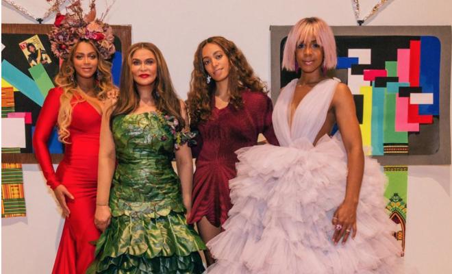 Beyonce, Kris Jenner, Kelly Rowland, more grace Tina Lawson's inaugural wearable art gala