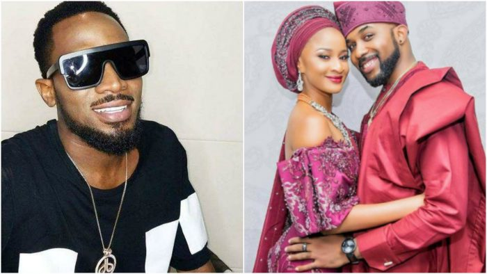 Which was the bigger secret, D'banj's newborn or Banky's engagement to Adesua?