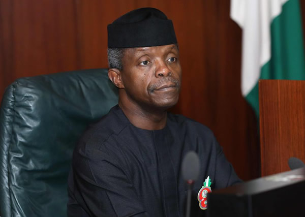 Yemi Osinbajo mourns with the UK over Manchester terror attack