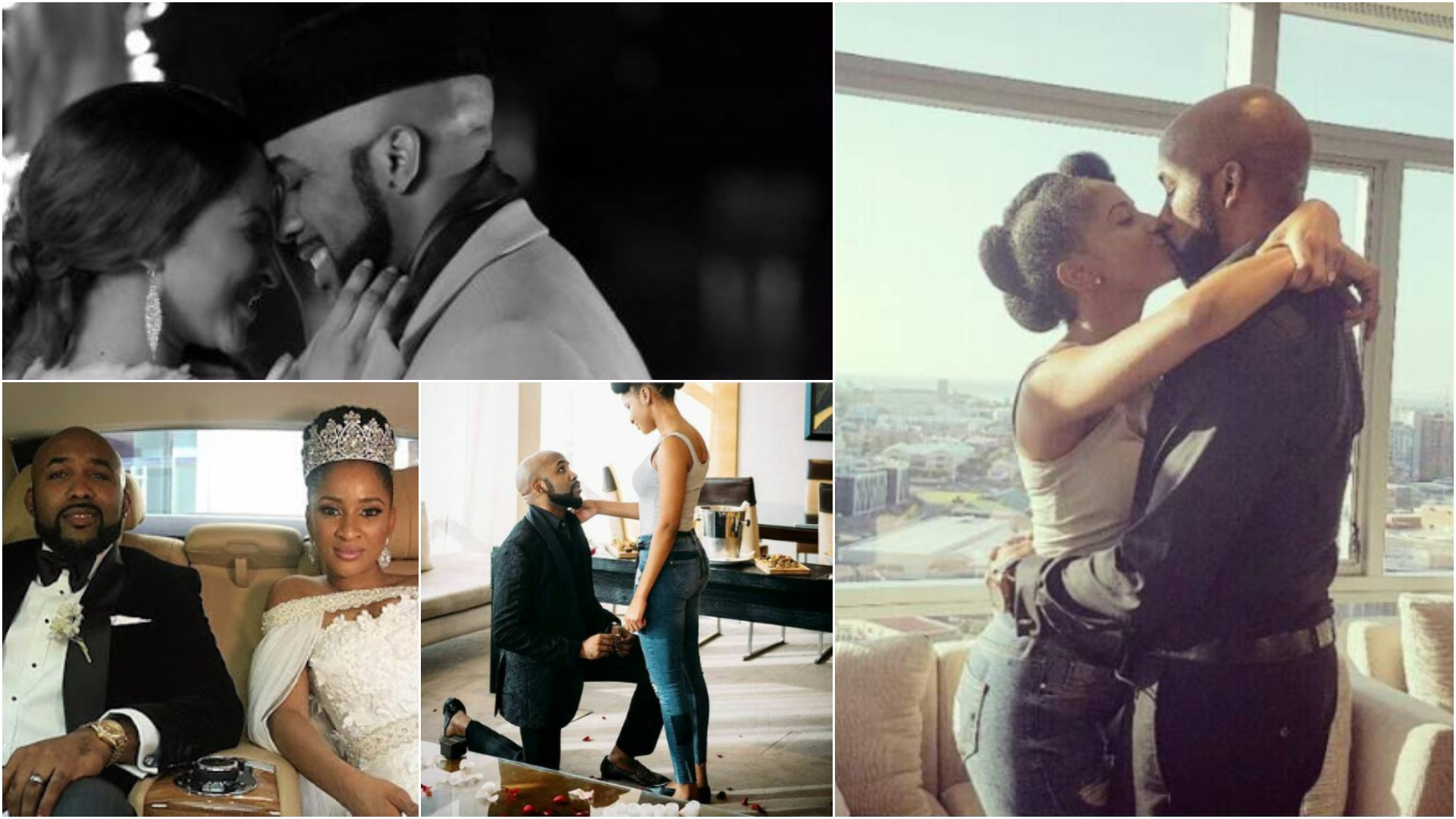 Congratulations Adesua Etomi and Banky W for listening to us!