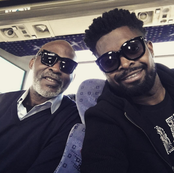 Watch Richard Mofe-Damijo and Basketmouth crack up the audience at an event