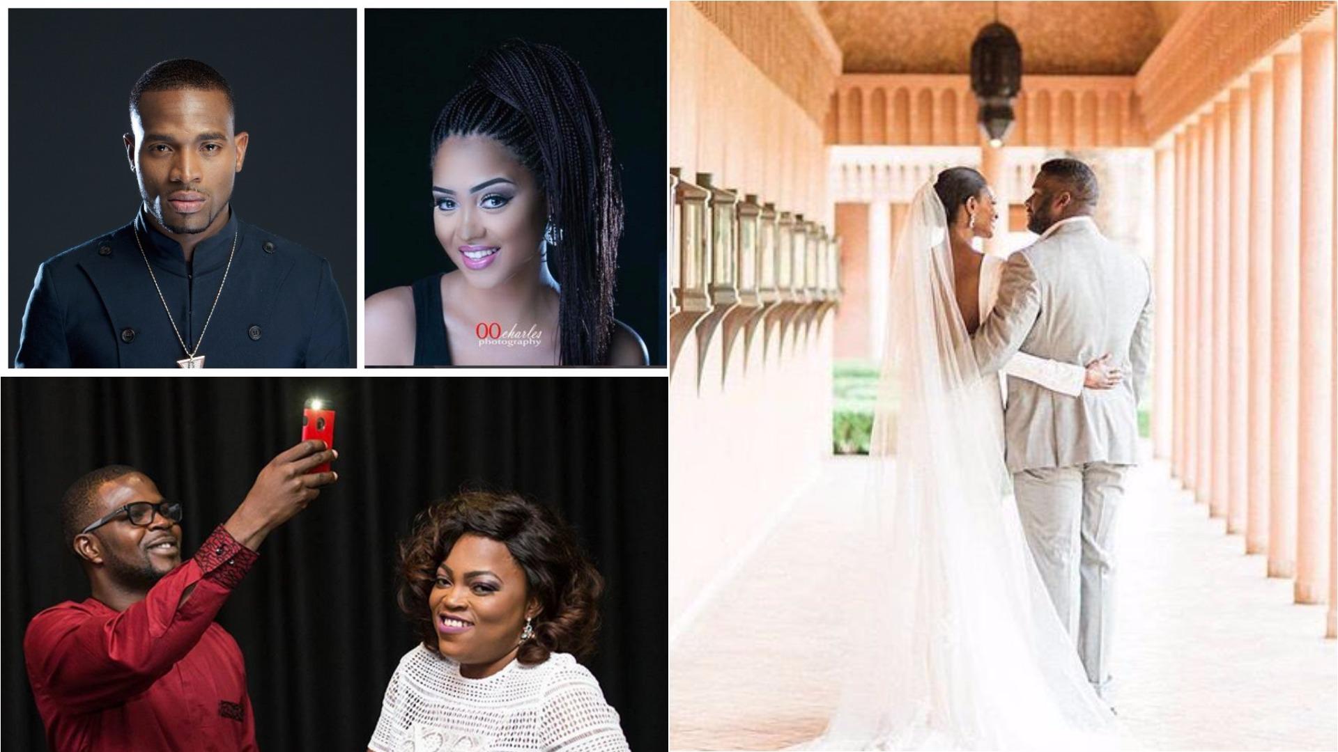 D'banj, Funke Akindele, Oritsefemi, other celebs that caught Nigerians unawares with their secret weddings