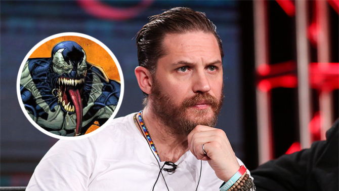 Tom Hardy to feature as Eddie Brock in 'Venom' movie