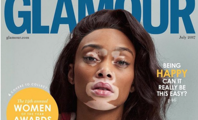Winnie Harlow, James Corden, Nicole Kidman cover Glamour UK's July 2017 edition