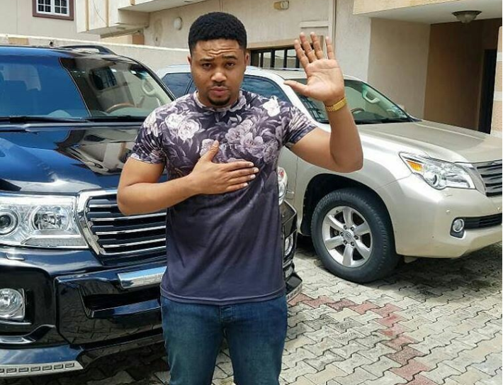 See this Nollywood actor's epic response to a fan begging him for money