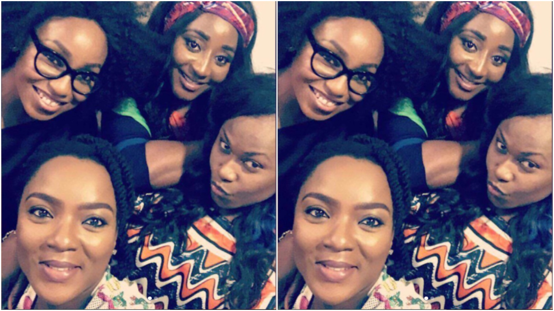 'We've come a long way' - Rita Dominic after catching up with Uche Jombo, Ini Edo and Chioma Akpotha