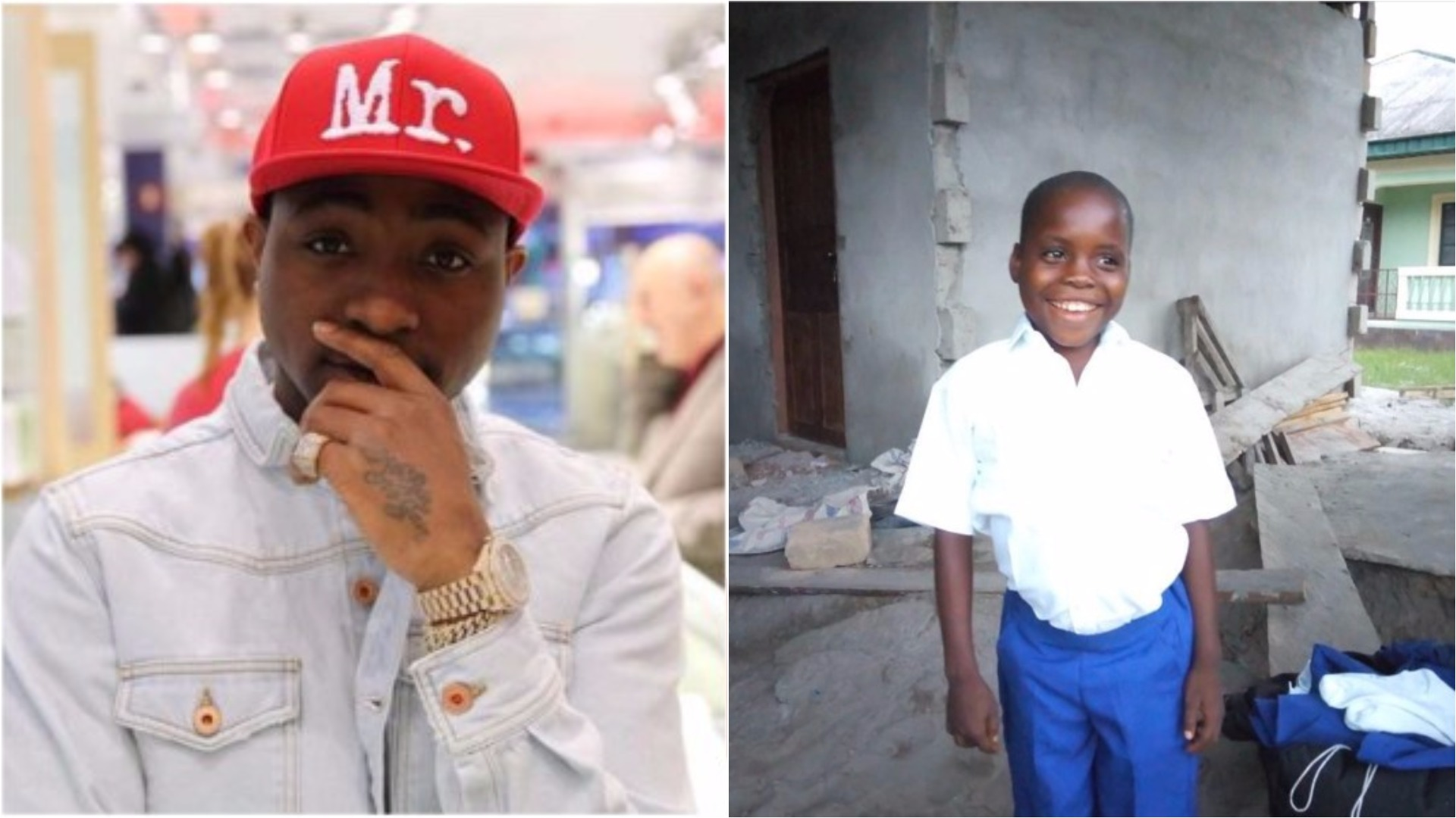 The five-year-old boy whose 'IF' cover caught Davido's attention loses his mom