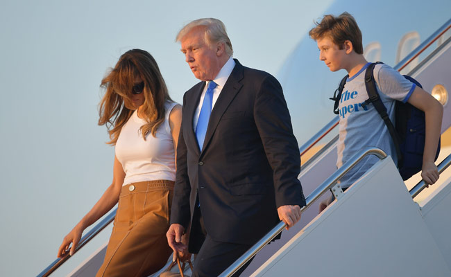 Why Donald Trump's wife and kid are just moving into the White House