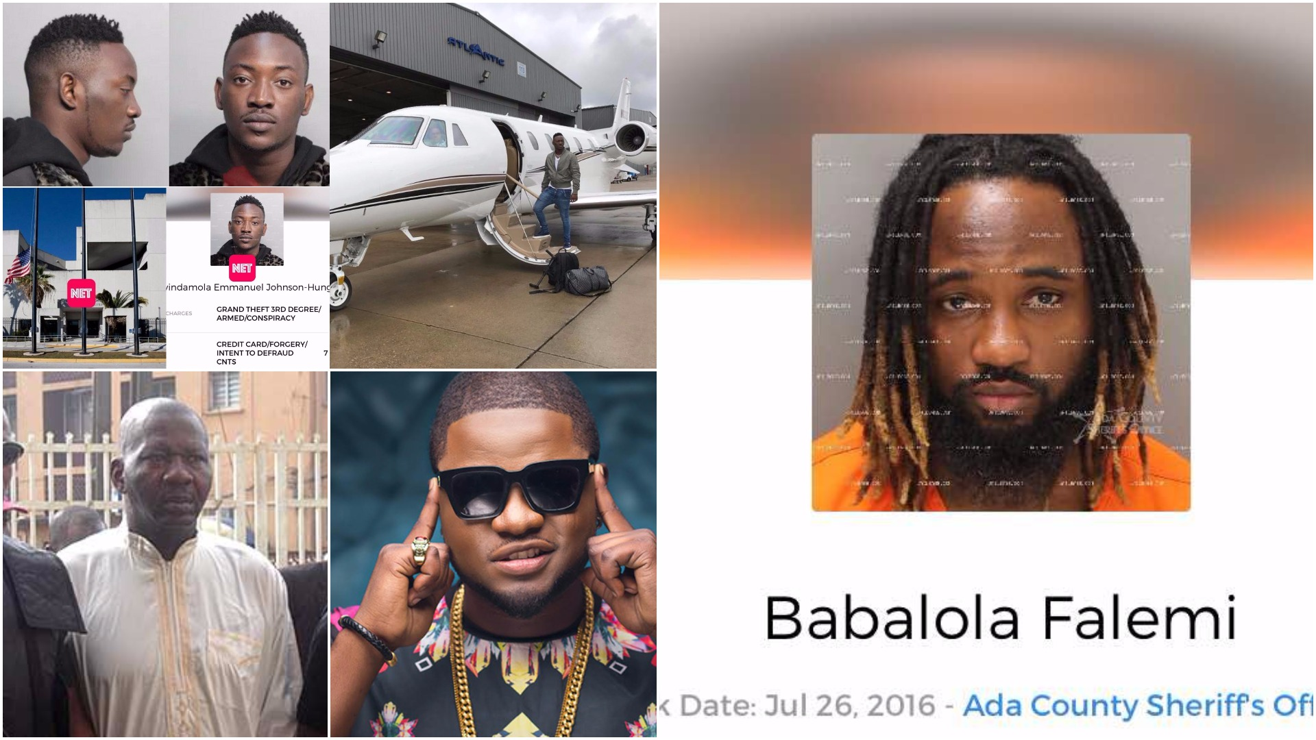 See Nigerian celebrities who have been in major trouble with the law