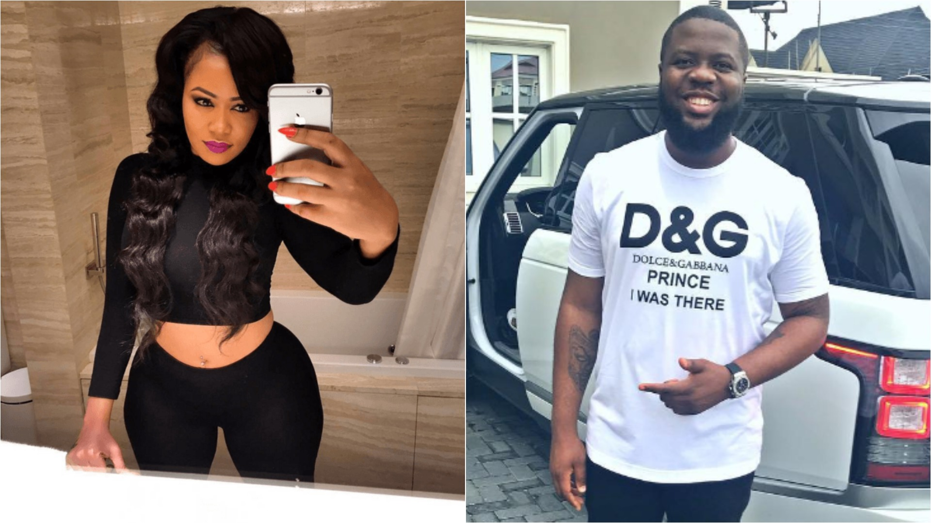 'Hushpuppi, come and collect your people' - Vera Sidika after being called 'Hushmummi'