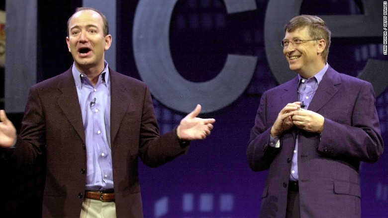 Major bag alert: Jeff Bezos overthrows Bill Gates as world's richest person