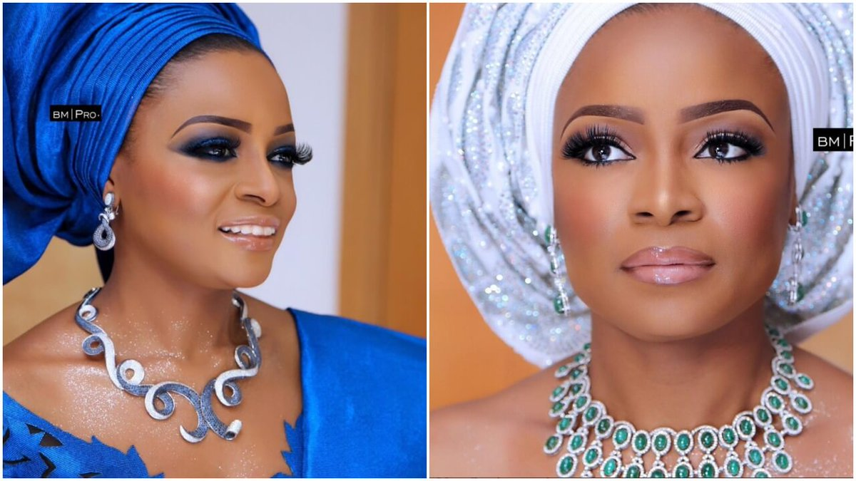 See stunning photos of billionaire Mike Adenuga's first daughter, Oyin at her engagement and introduction ceremonies