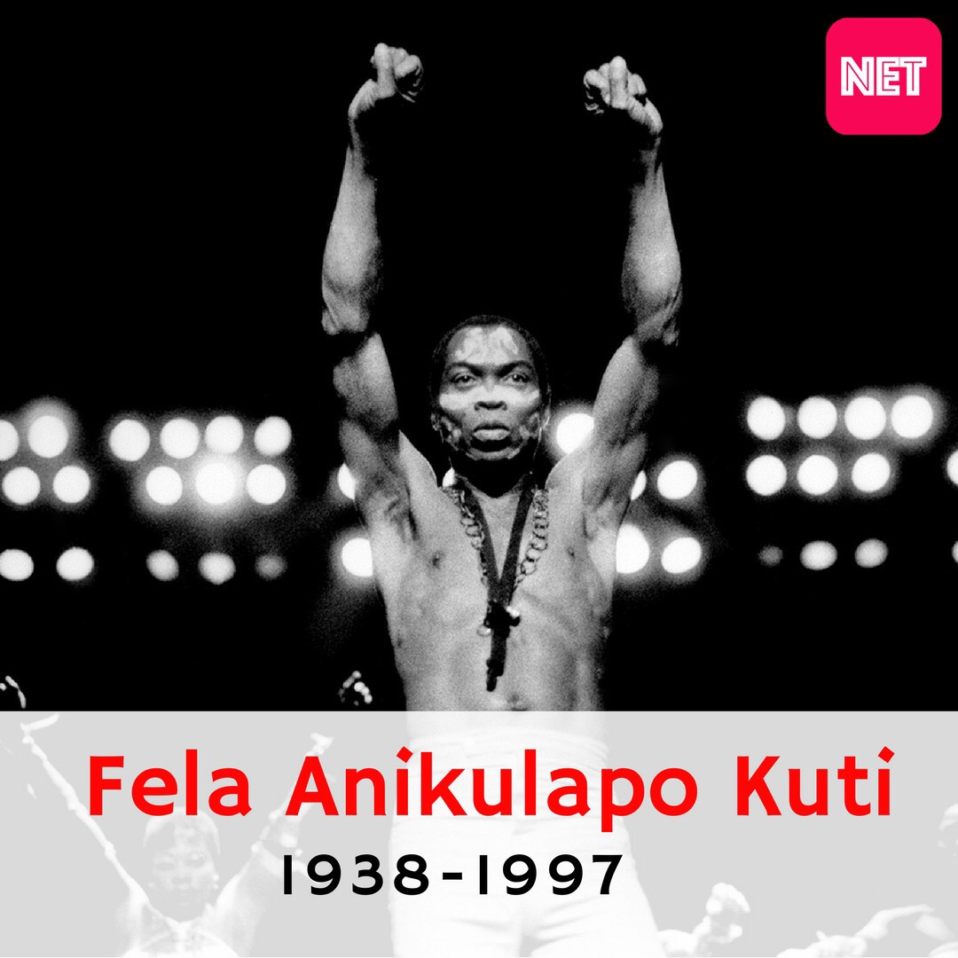 On this day in 1997, Afrobeat icon Fela Anikulapo Kuti died in Lagos at age 58
