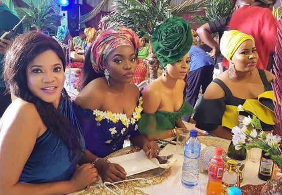 Toyin Abraham, Bisola Aiyeola, Toke Makinwa and Chigul