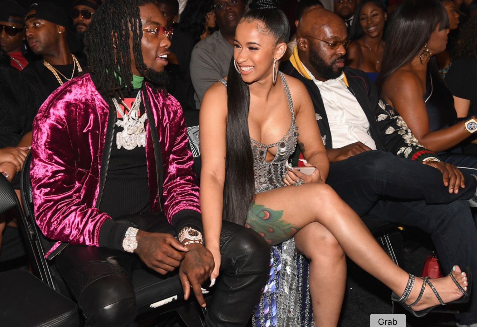 Watch The Moment Offset Of Migos Proposed To Cardi B Onstage
