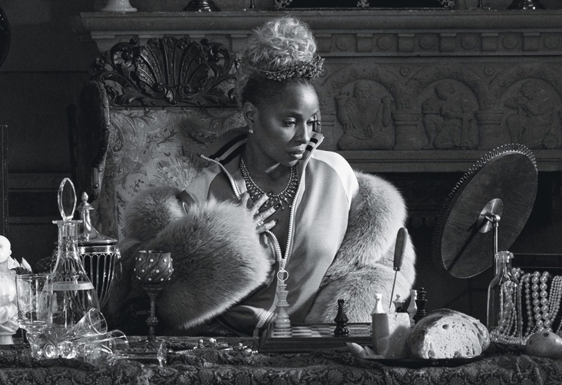 Mary J. Blige Talks The Challenges With Her Divorce As She Covers W Magazine