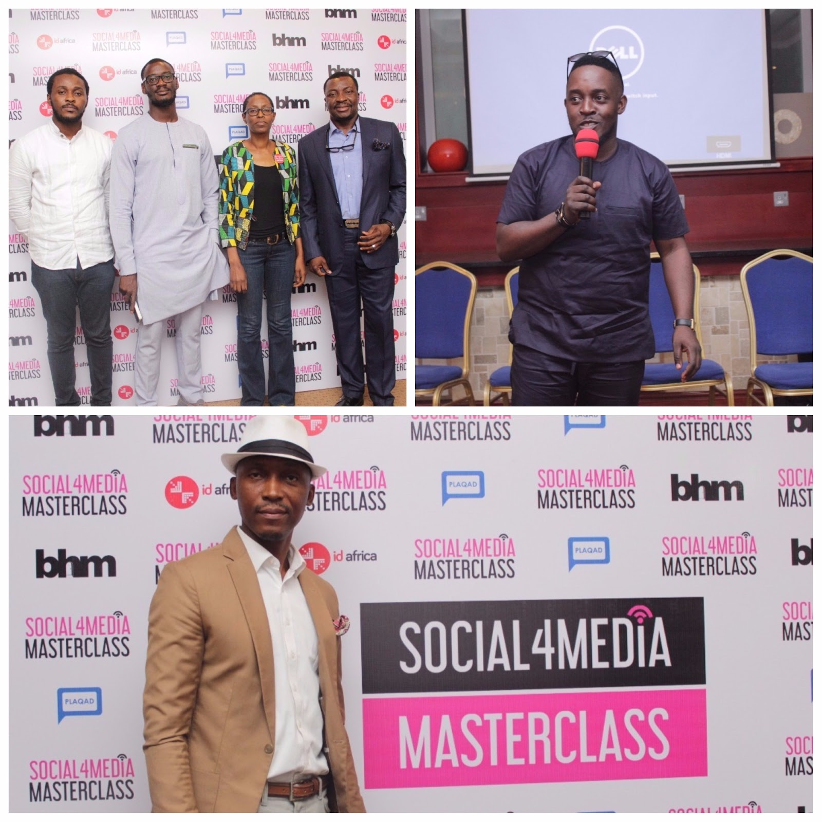 Important Quotes from Ali Baba, MI, Osagie Alonge, Frank Donga & Others You Missed at #Social4Media Masterclass