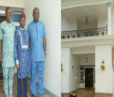 Veteran Nollywood Actor Kanayo O. Kanayo Opens His Newly Built Multi Million Naira Mansion In Imo State
