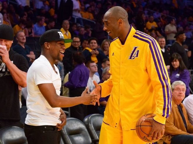 Floyd Mayweather Wants To Play Kobe Bryant In A One-On-One Basketball Game For One Million Dollars