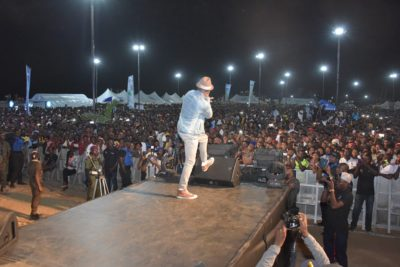 One Lagos Fiesta Day 6: See Electrifying Performance By Mr P (Peter Psquare)