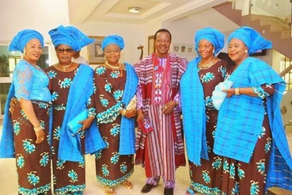 King Sunny Ade Shares Stunning Photos With His 5 Wives