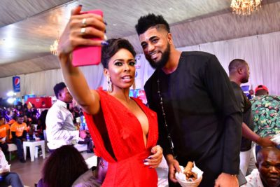 FIRST PHOTOS: Tboss, Bisola, Debby Rise, Gifty, Soma, Coco Ice, Bassey, Kemen, Daddy Showkey, Olumide Owuru At The Live Viewing Of Big Brother Naija Season Three