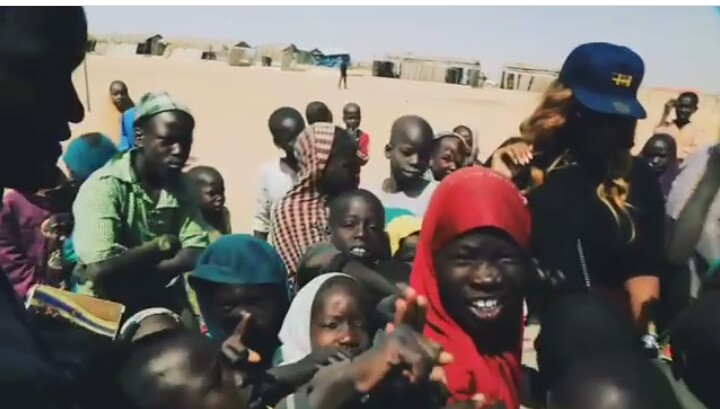 Media Personality Toolz Oniru-Demerun Visits IDP Camp In Maiduguri