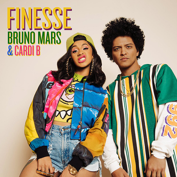 Bruno Mars' Features Cardi-B On The Remix of Hit Single 'Finesse'