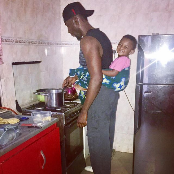 Nigerian Actor Gbenro Ajibade Is Serving Fresh Daddy And Daughter Goals