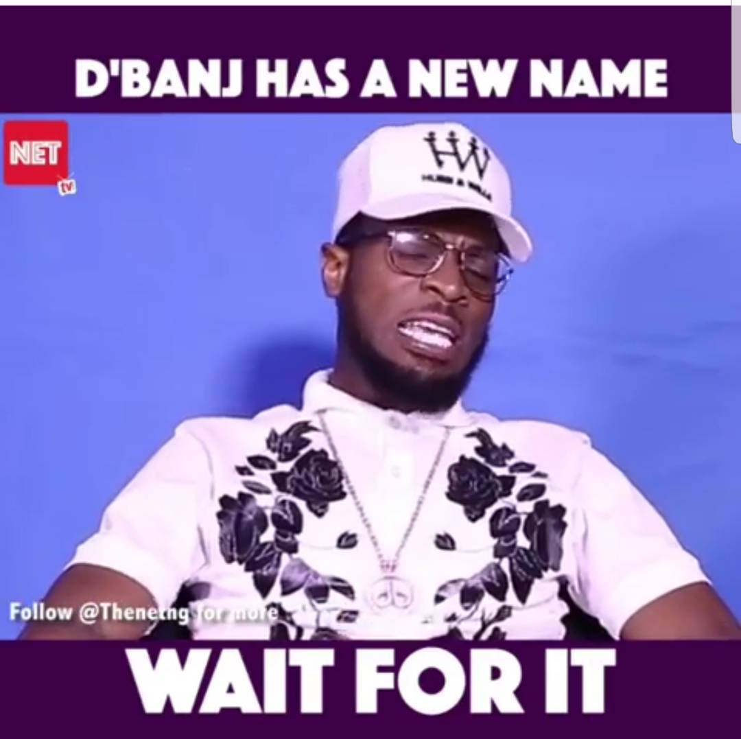 NETTV Exclusive: Marriage Has Stopped Me From Being A 'Free Giver'- D'banj Says