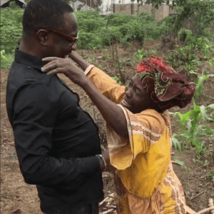Julius Agwu Paying His Mother A Surprise Visit Is The Sweetest Thing You'll See Today! 😭❤️