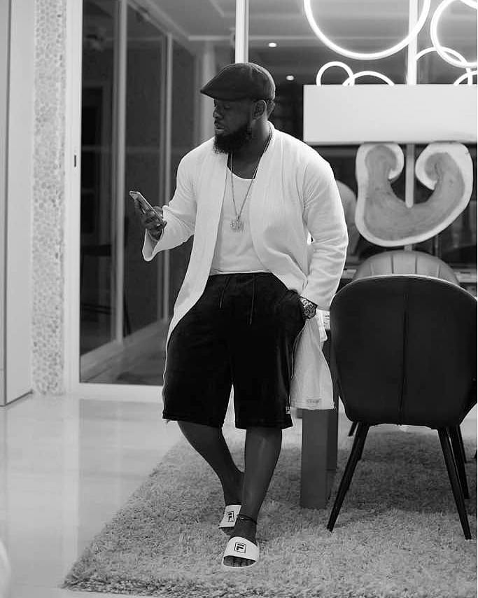 This Picture Of Timaya's Spacious Closest Is Every Man's Dream