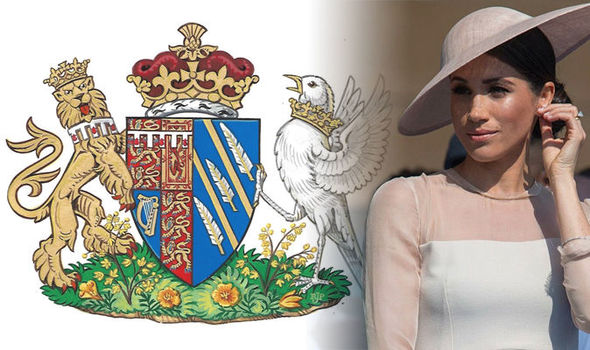 Meghan Markle Receives Honorary Coat Of Arms As Duchess Of Sussex