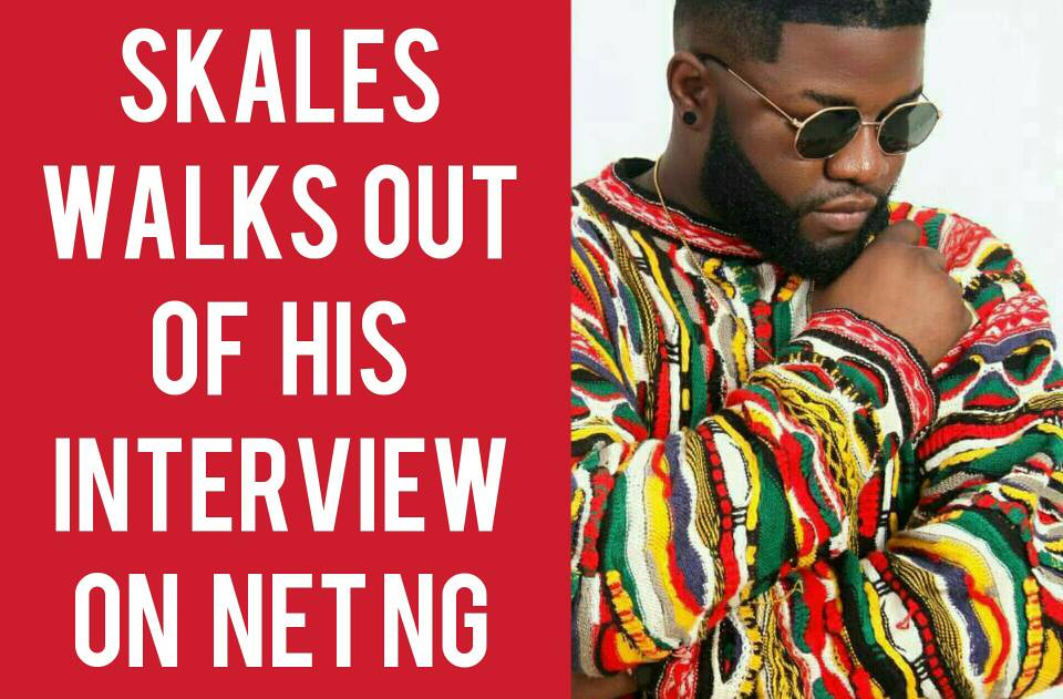 """I Interviewed One Of My Favourite Artistes """"Skales"""", And It Didn't End Well"""