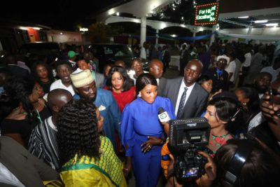 See Photos From Mercy Johnson's Reception With The President of the Republic Of Sierra Leone