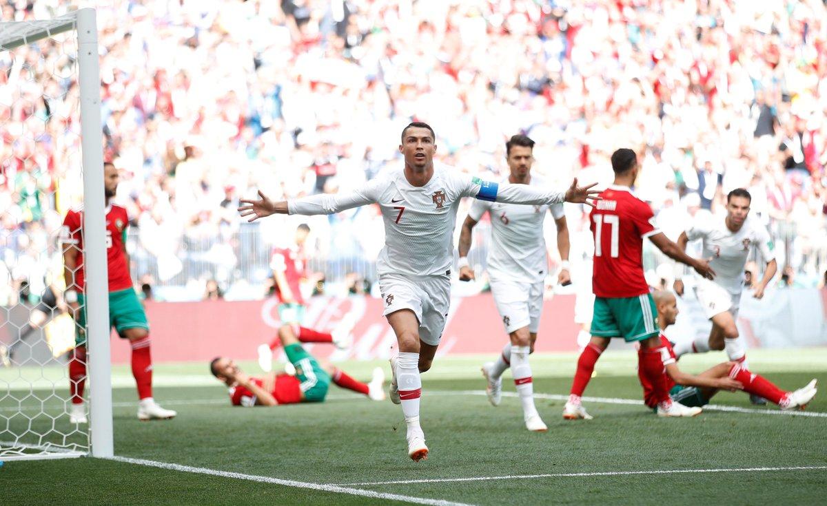 Russia 2018: Cristiano Ronaldo's Lone Goal Ends Morocco's 2018 World Cup Dream