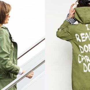"""People Have Taken To Selling Melania Trump's """"I Really Don't Care"""" Jacket On eBay"""