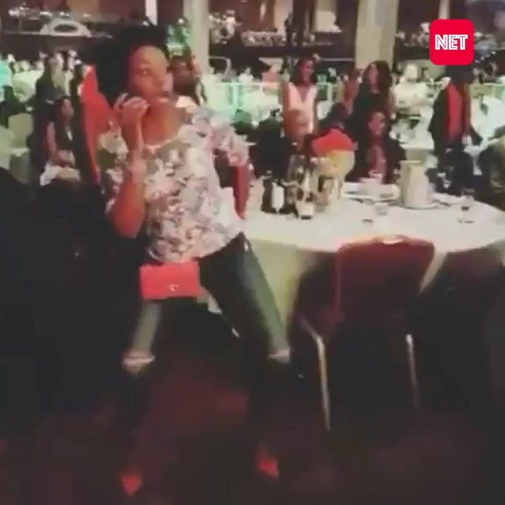 This Throwback Video Of Kate Henshaw Getting Lit Is The Coolest Thing You'll See Today!