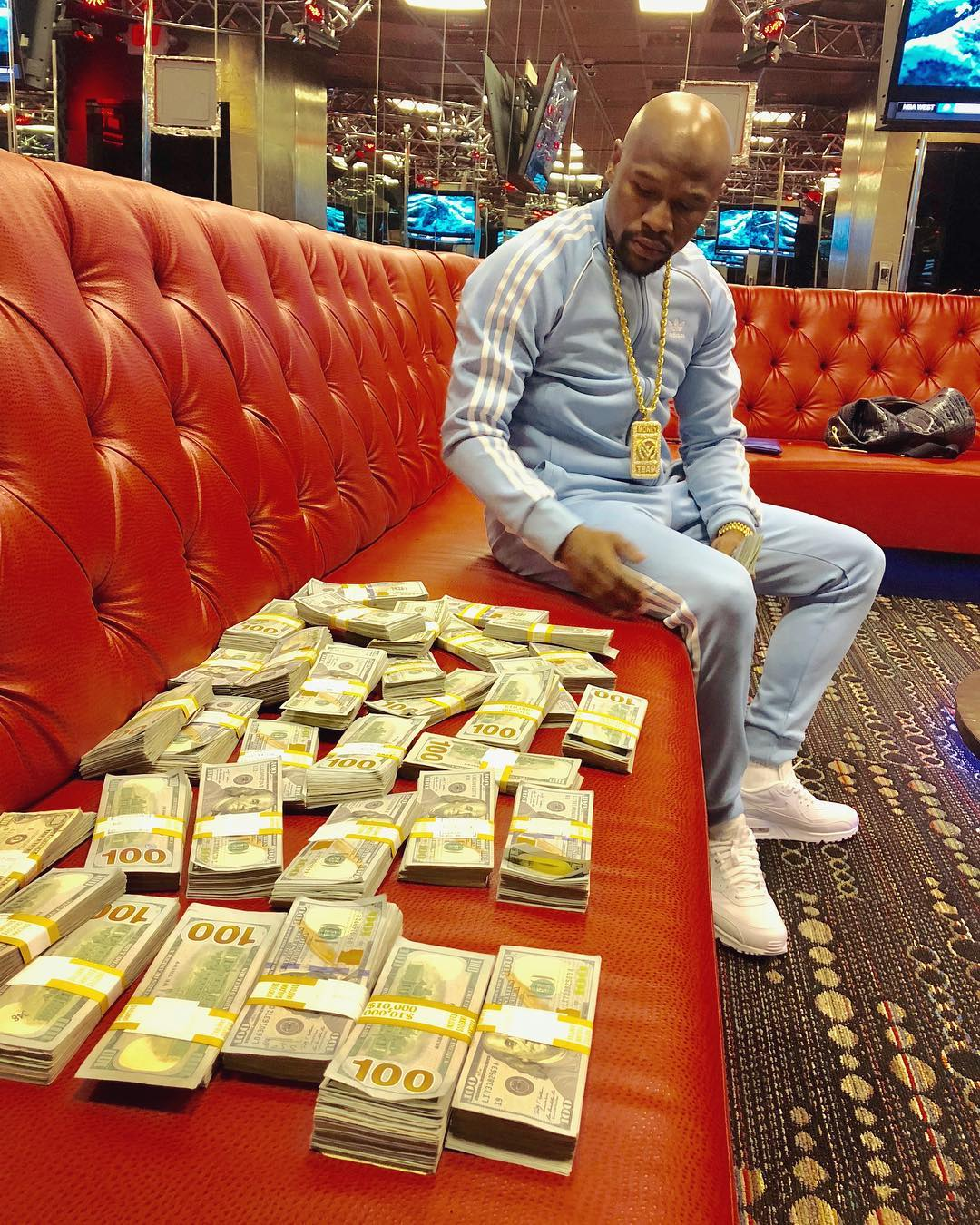 Forbes: Floyd Mayweather Tops The List of Highest Paid Celebrities In The World (See full list)
