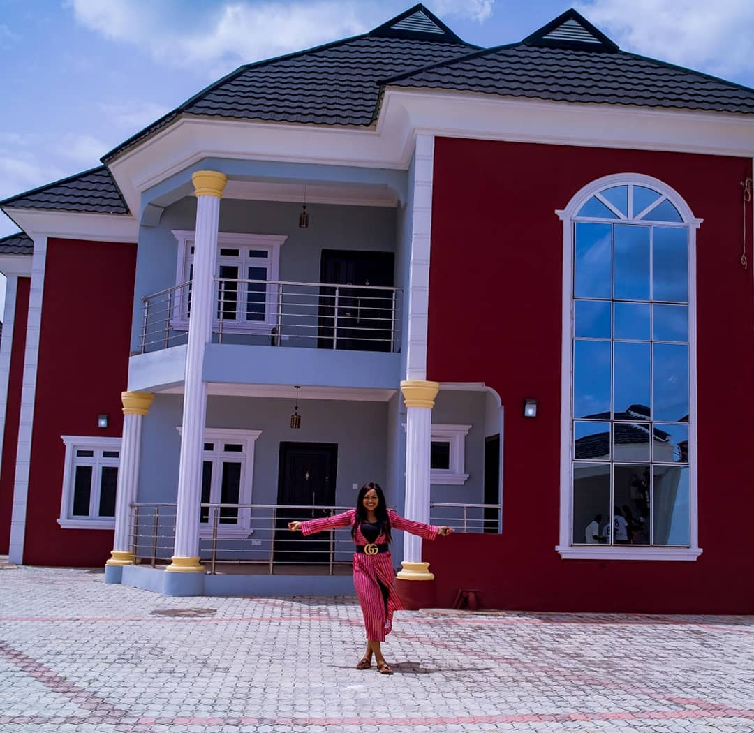 See The Stunning Interior Of Actress Mercy Aigbe's New House