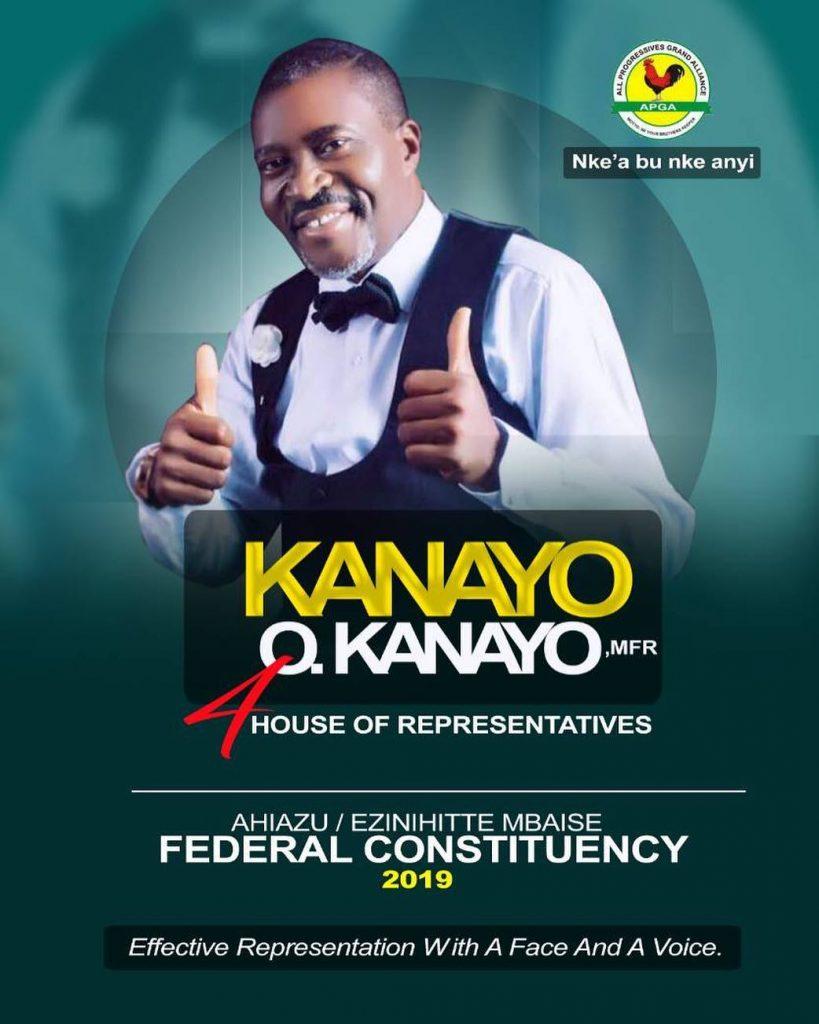 Nollywood Icon Kanayo O Kanayo Declares House Of Representatives Ambition
