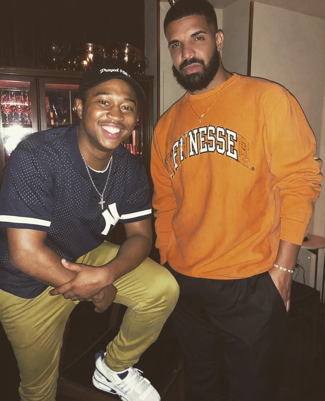 Drake Finally Meets 'In My Feelings' Challenge Creator, Gives Him $250,000
