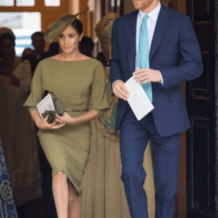 Royal Christening: Royal Family Attends Prince Louis' Christening