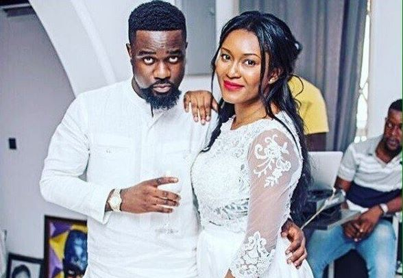 Photos: Ghanian Rapper, Sarkodie Marries His Baby Mama Tracy After Dating For Over A Decade