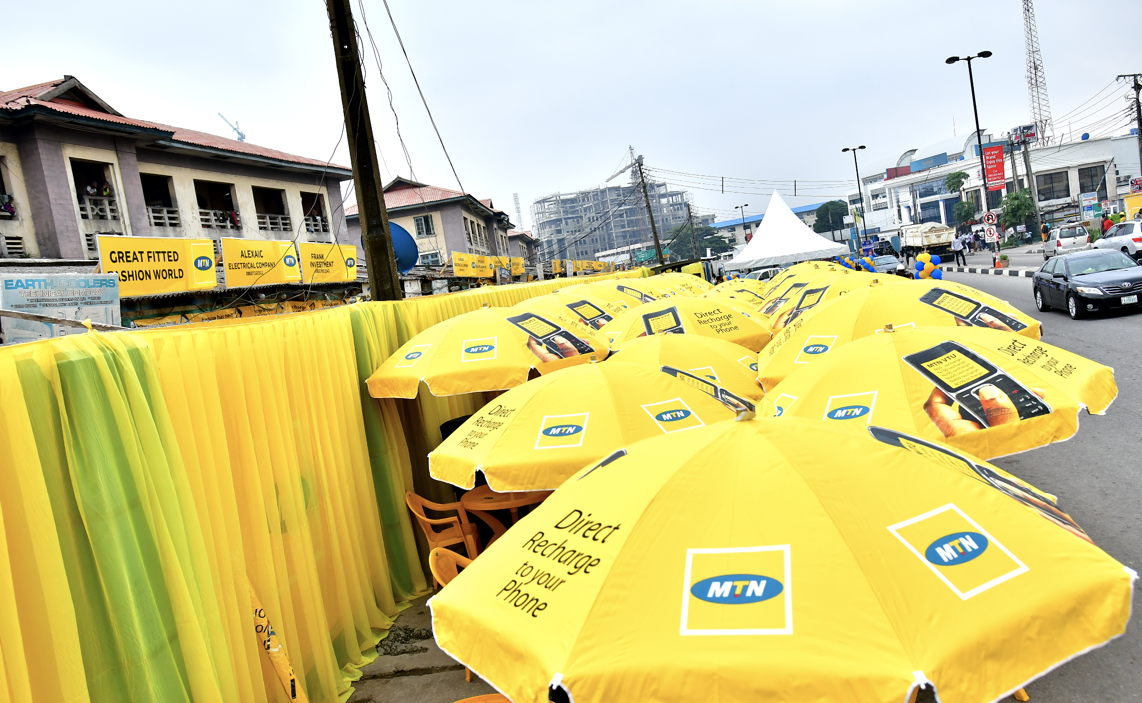 PHOTOS: MTN Transforms The POWA Corridor In Ikoyi