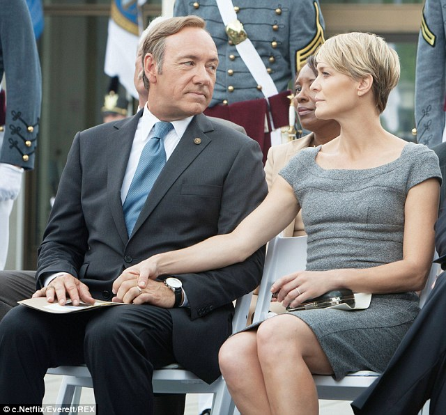 Robin Wright Opens Up About Former House of Cards Costar Kelvin's Spacey's Sexual Misconduct Allegations