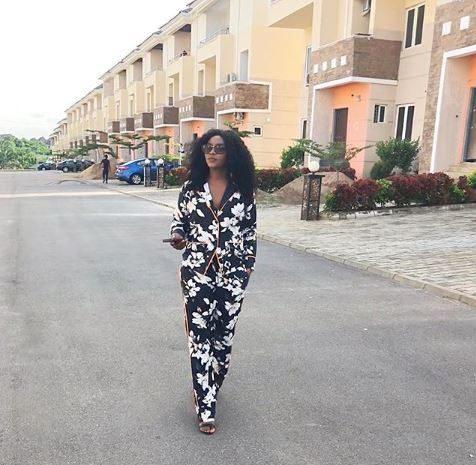 Genevieve Nnaji Completes Her Estate In Abuja